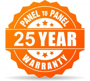 25 year warranty Local Solar installer