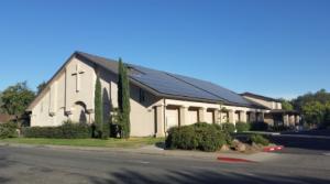 Non-Profit Solar installation