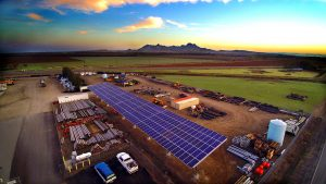 LOCAL SOLAR COMANY, LARGE COMMERCIAL SOLAR INSTALLATION