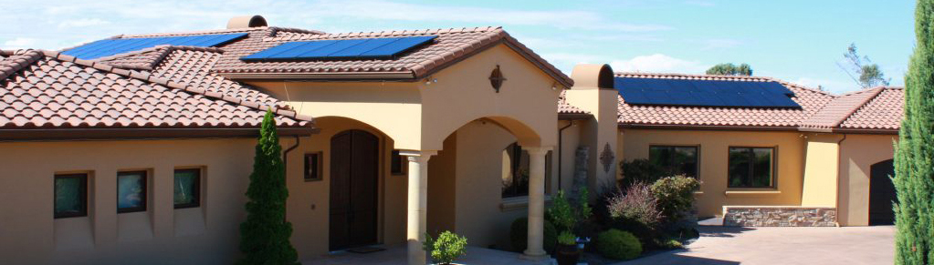 Residential Solar Tile Roof Mount